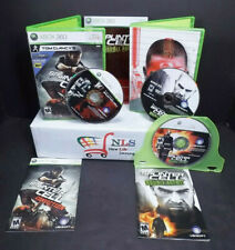 Xbox 360 Tom Clancy's Splinter Cell Conviction & Double Agent Limited Edition
