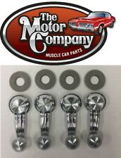 1965-1981 CHEVY OLDS BUICK WINDOW CRANK HANDLE CLEAR KNOB SET OF 4