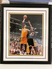 Mounted Memories Authentic Shaquille O'Neal LE 16x20 Framed Lakers Photo  62/125