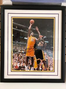 Mounted Memories Authentic Shaquille O'Neal LE 16x20 Framed Lakers Photo #'d/125