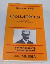 I malavoglia . Giovanni Verga . a cura di Riccardo Bruscagli . 1993