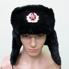 Wintermütze Uschanka Russischen sowjetischen Armee Kokarde