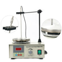 AU 220V 85-2 Lab Magnetic Stirrer w/Mixer Heating Plate Hotplate Digital Display