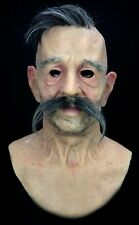 "Silicone Mask Old Man ""Carl"" Hand Made, Halloween High Quality, Realistic,"