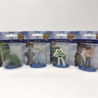Toy Story 4 Disney Mini Figurines Figure/Cake Topper Woody Buzz Bo Peep Rex Lot