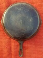 """Vintage Wagner Ware Cast Iron No 10  - 11 3/4"""" Skillet Made in U.S.A."""