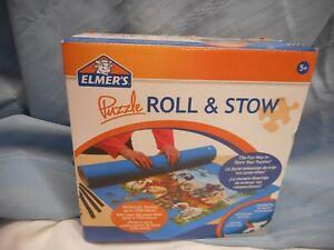 """JIGSAW PUZZLE ROLL & STOW ELMER'S 24""""X42"""" STORAGE PUZZLE MAT NIB"""