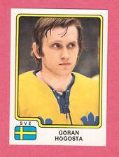 Goran Hogosta Team Sweden Sverige 1979 Panini Hockey Sticker NM/M #184