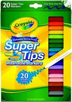 Crayola Super Tips Washable Markers 20 Brand NEW!