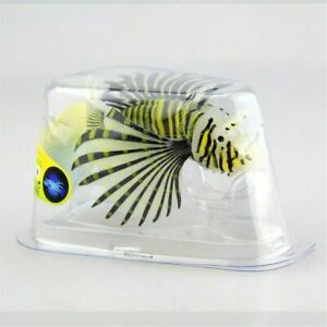 Aquarium Artificial Luminous Lionfish Tank Fake Fish Glow Ornament Decoration