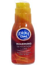 Sex Lube Warming Sensation Stimulating Condom Friendly Formula 75ml