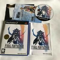 Final Fantasy XII 12 / Boxed & Instructions / Playstation 2 PS2 / PAL