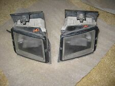 91-96 1991-1996 infiniti g20 p10 fog lights lamps Complete with brackets Oem