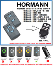 HORMANN HSM2, HSM4 868 Universal Remote Control Duplicator 868.35MHz.