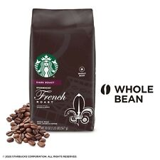 Starbucks Dark Roast Whole Bean Coffee French Roast Torrefaction 40 oz EXP 02/21