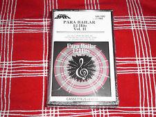 LP LATIN: VARIOS PARA BAILAR VOL. 2 ,12 HITS 1985 SAR RECORDS  CASSETTE RARE NEW