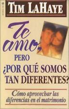 NEW - Te Amo, pero, por que Somos tan Diferentes? by LaHaye, Tim