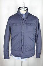 MSRP $325 NWT Mens Woolrich John Rich & Bros Comfort Shirt Jacket L Navy Blue