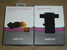 MICROSOFT XBOX ONE DUAL CONTROLLER CHARGING DOCK BATTERY KINECT WALL MOUNT NEW!