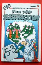Fun With Subtraction Ladybird vintage book maths mathematics school learning