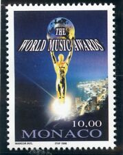 STAMP / TIMBRE DE MONACO N°  2158 ** 10° WORLD MUSIC AWARDS