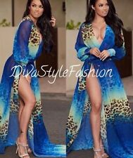 Unbranded Animal Print Chiffon Cocktail Clothing for Women