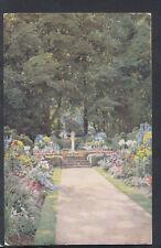 "Buckinghamshire Postcard - ""Woodside"", Chenies - The Old Sundial  T4408"