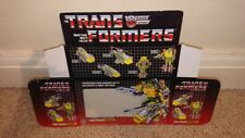 TRANSFORMERS SPRINGER G1 SERIES (BOX ONLY)