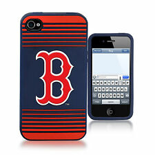 Boston Red Sox All Silicone IPHONE 4/4S cell phone cover/case