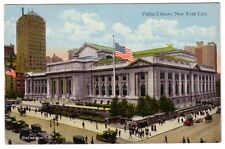 oLd New York City Public Library Postcard A-63214 CT Photocrom American Studio