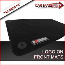 Audi A4 Convertible S Line 01-08 Tailored Black Velour Car Mats + Logos Free P&P