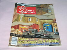 O Gauge Railroading Magazine August 1993 Five Do It Yourself Articles