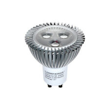 LED GU10 3x1W 45° CREE Power Strahler 3W=240lm=25Watt Lampe ALU Leuchtmittel