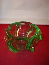 Green Art Deco Date-Lined Ceramics