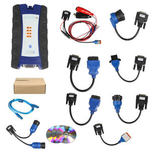 USB Link Diesel Truck Interface NXIQ 2 With Software Heavy Duty Diagnostic tool