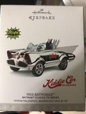 SOLD OUT 1966 BATMAN CLASSIC TV Chrome Batmobile Car Hallmark Ornament LIMITED