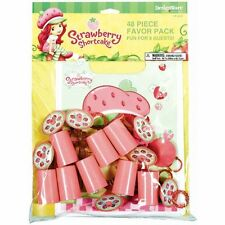 New Strawberry ShortCake Birthday Party Supplies 48PC Mega Value Favor Pack
