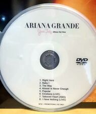Ariana Grande DVD music videos & LIVE Right There Baby I The Way   (not CD)