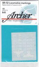 ARCHER FINE TRANSFERS AR35219 - BR-52 LOCOMOTIVE MARKINGS 1/35