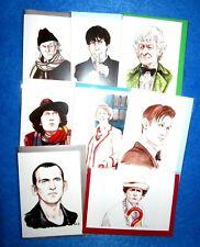 Doctor Who Geburtstags Grußkarte von Blackkingsdream Matt Smith David Tennant