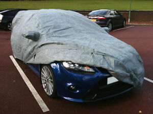 4 Layer Outdoor Waterproof and Breathable Fitted Car Cover for Ford Focus RS Mk2