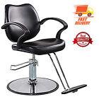 Hair Salon Chair Heavy Duty Hydraulic Pump Barber Beauty Stylist Classic Leather