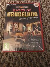 Gates Of Graceland (PC CD-ROM) Hidden Mysteries computer game Elvis Presley NEW