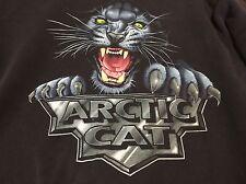 Vintage Artic Cat Large Sweatshirt ATV Snowmobile 90s Indie Rock Hipster Animals