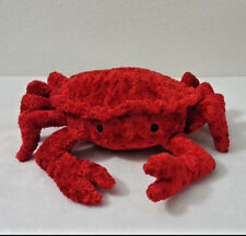Pier 1 Imports Red Crab Shellfish Ocean Plush 8 Inches