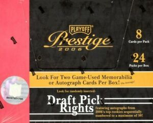 2006 Playoff Prestige Football Complete Your Set Pick 25 Cards From List