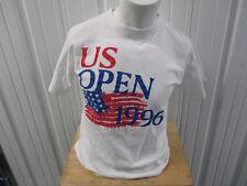 VINTAGE MALIBU CLASSIC US TENNIS OPEN 1996 NYC LARGE SHIRT PETE SAMPRAS GRAFF