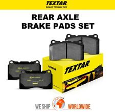 TEXTAR Rear Axle BRAKE PADS SET for VW TIGUAN 2.0 TDI 4motion 2016->on