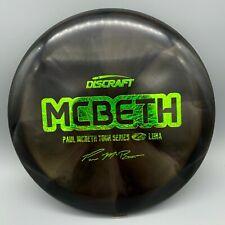 Discraft Tour Series Paul McBeth Swirly Z Luna Putter Disc Golf Pick your disc!