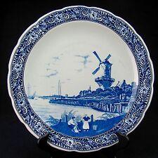 "Delft Boch Royal Sphinx Holland Charger / Platter 15"""